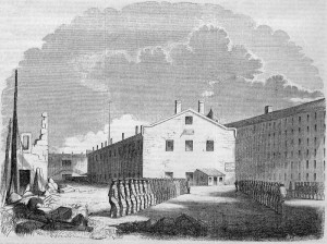 State Prison at Sing Sing, New York, 1855 (Source: Wikipedia.org.)