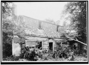 A 17th-century House in Eltonhead Manor - From the Library of Congress