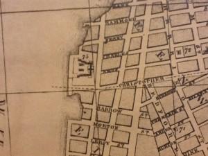 Location of Newgate Prison, New York (NYPL Map Division – http://nyplmaps.tumblr.com)