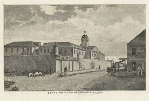 Newgate Prison, New York, 1801