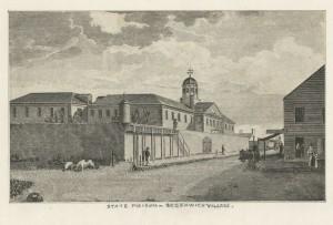 Newgate Prison, New York, 1801