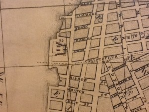 Location of Newgate Prison, New York (NYPL Map Division – http://nyplmaps.tumblr.com)